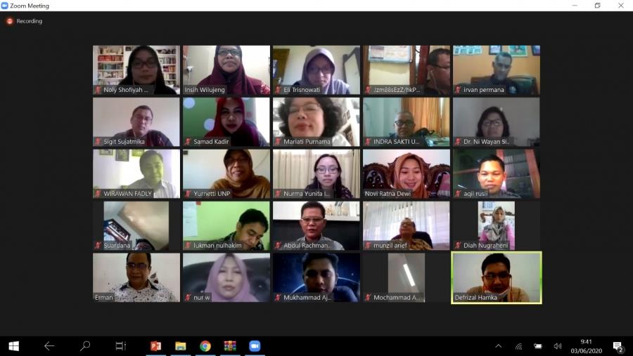 FGD online Kaprodi IPA Se-Indonesia Menyamakan Persepsi Tentang Merdeka Belajar dan kampus Merdeka