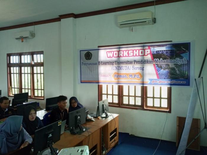 Workshop e-learning untuk Meningkatkan Profesionalisme Dosen IPA
